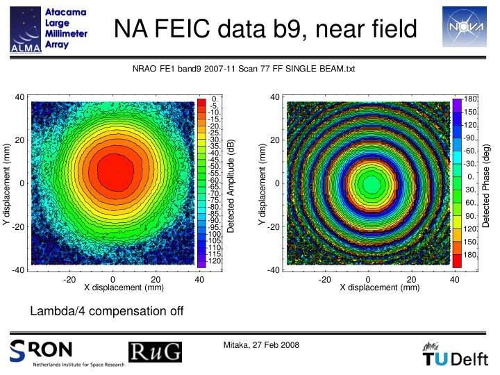 NA FEIC data b9, near field
