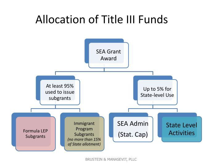 Allocation of Title III Funds