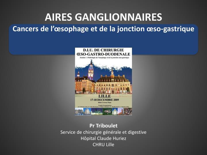 AIRES GANGLIONNAIRES