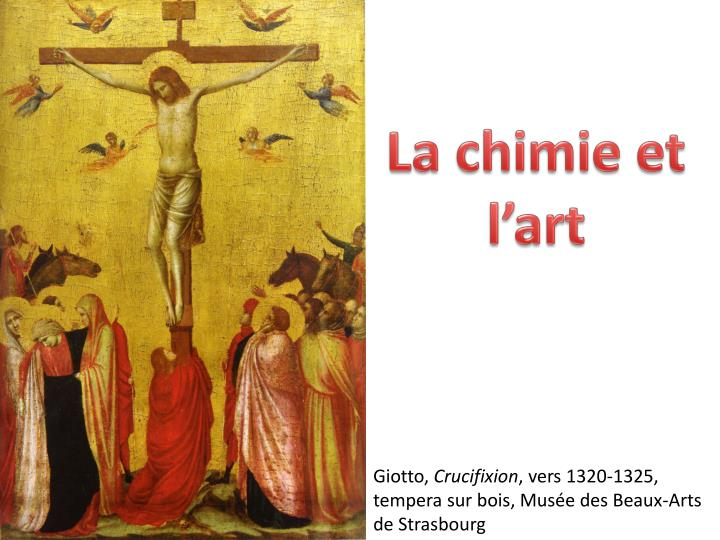 La chimie et l'art