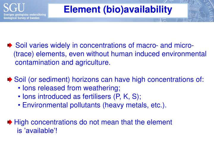 Element (bio)