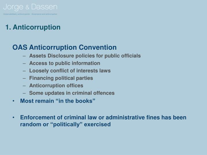 1 anticorruption