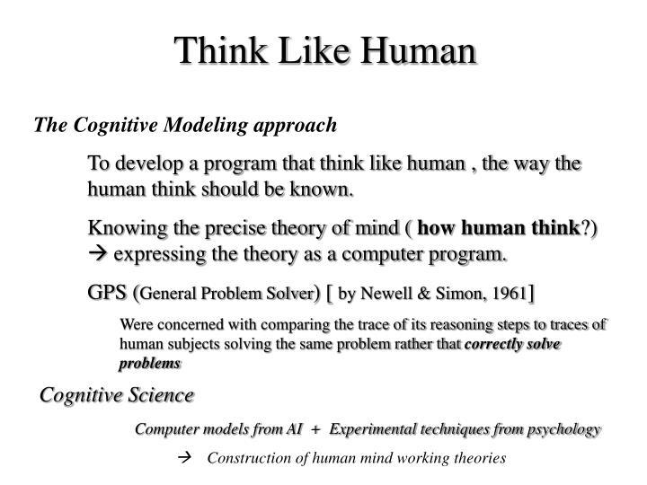Think Like Human
