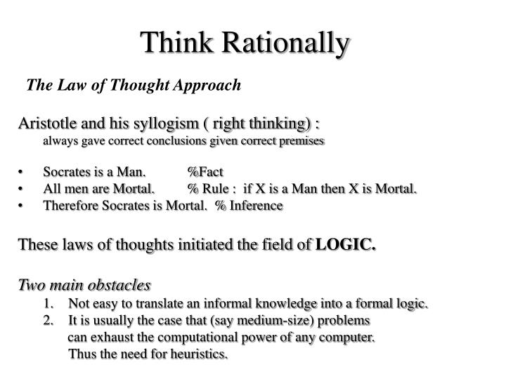Think Rationally