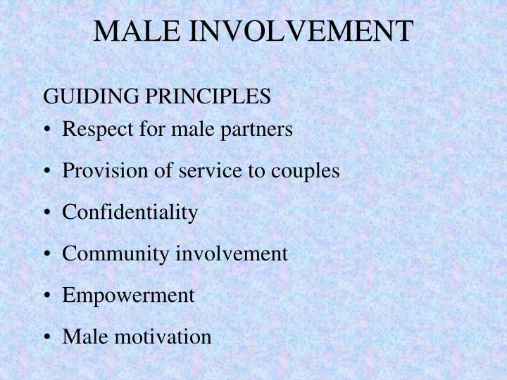MALE INVOLVEMENT