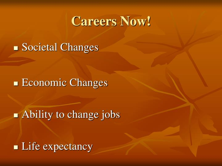 Careers Now!