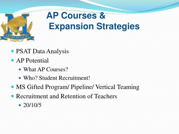 AP Courses &