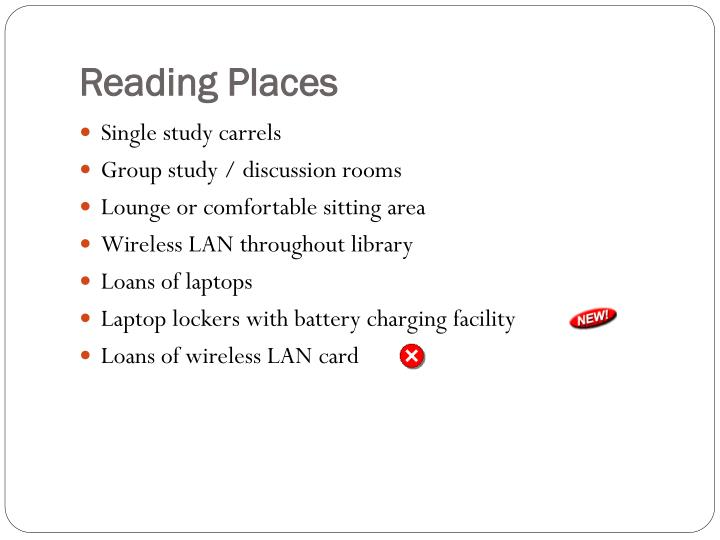 Reading Places