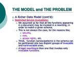the model and the problem11