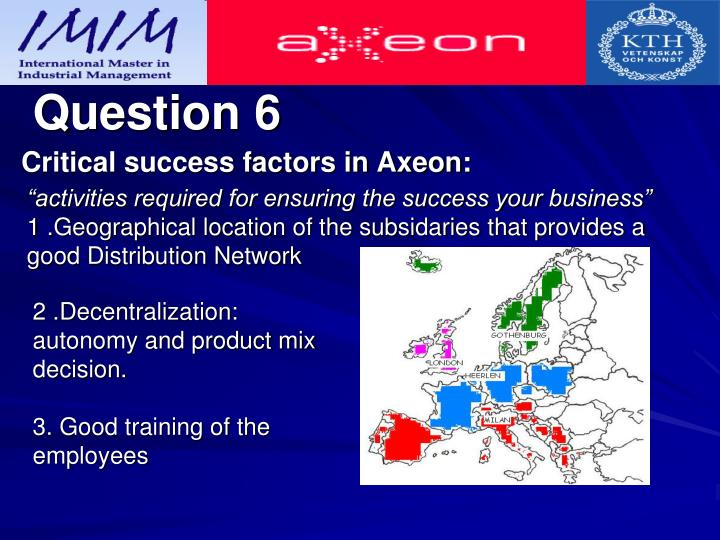 axeon n Axeon nv case presentation by: xiao hu, yifan shi, dilpreet aujla, sukhpreet gill, oksana shkurko, alexandra shkurko, marco zhu many subsidiaries company divisions that are the main focus of the case: hollandsworth inc in the uk and axeon hq in the netherlands ar - 42 ian's proposal 2 groups.