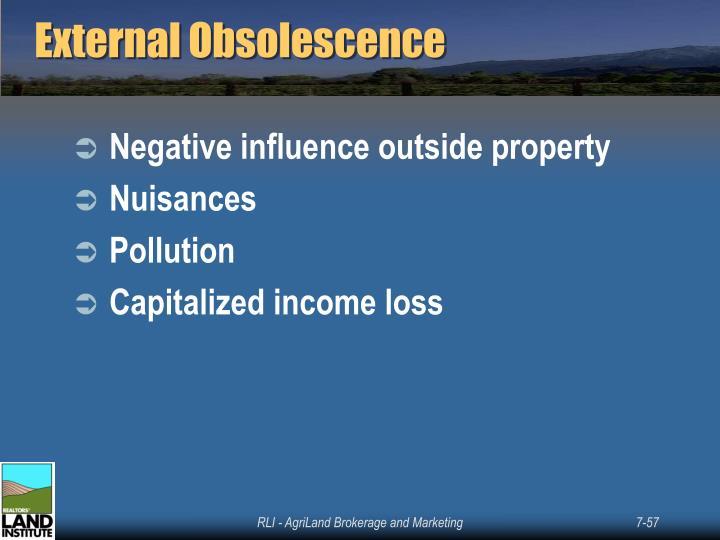 External Obsolescence