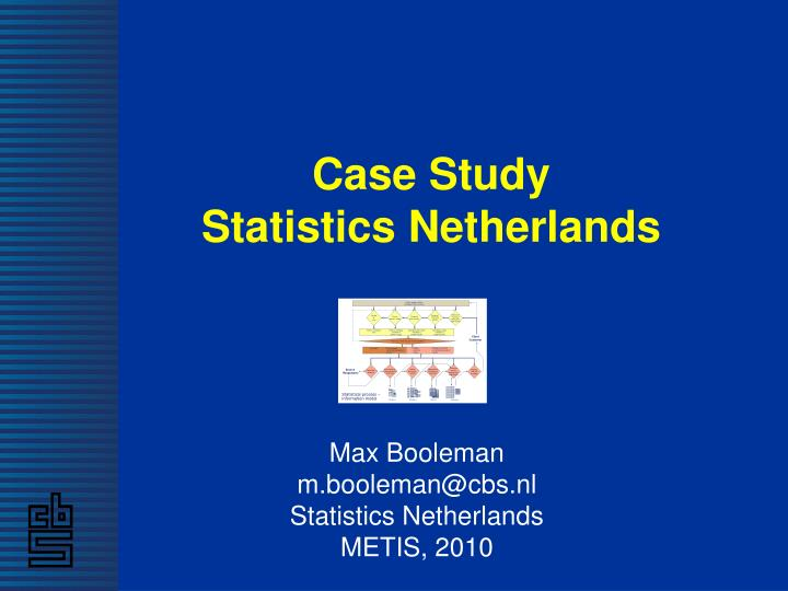 statistics case Csbigs volume 6(2) and 7(1) the case studies in business, industry and government statistics (csbigs.