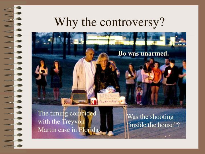 Why the controversy?