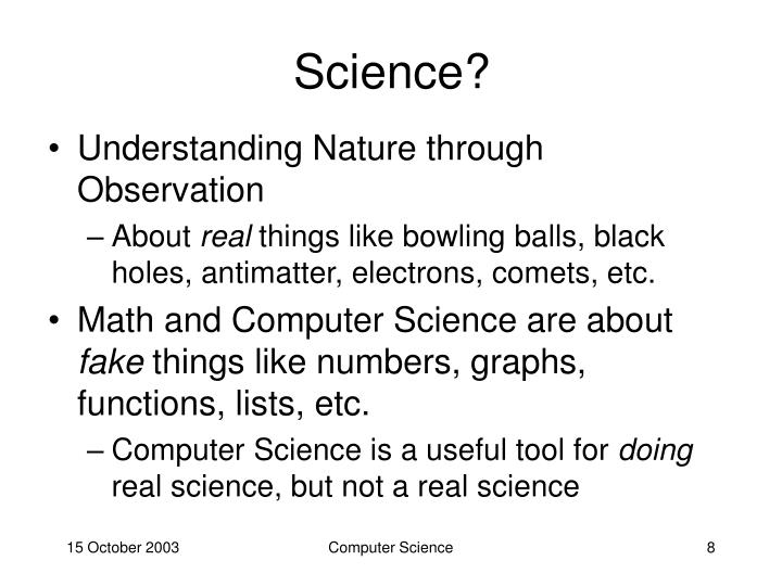 Science?