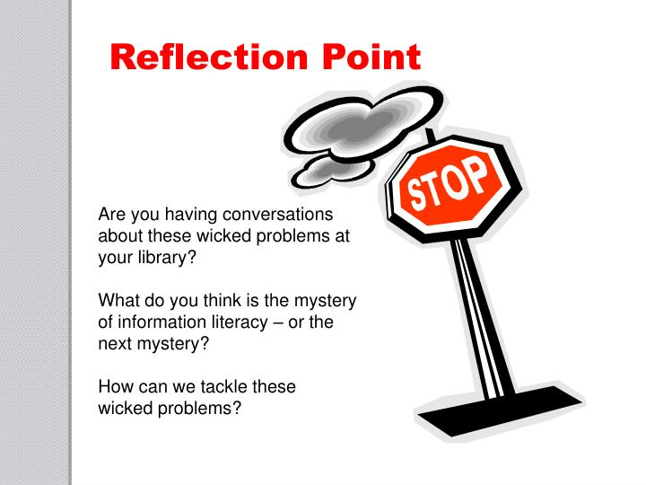 Reflection Point