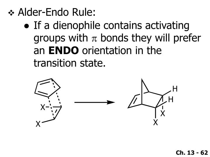 Alder-Endo Rule: