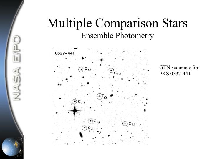 Multiple Comparison Stars