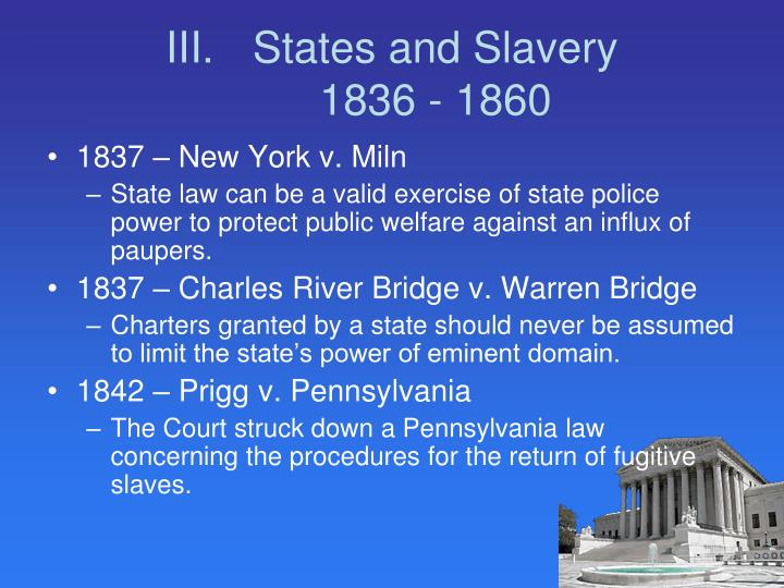 States and Slavery