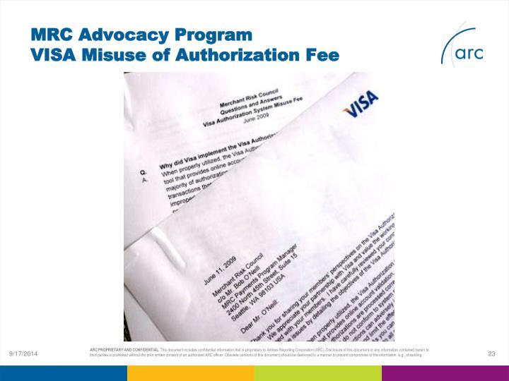 MRC Advocacy Program