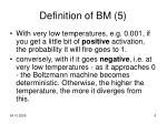 definition of bm 5