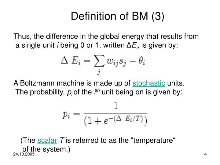 Definition of BM (3)