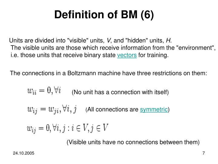 Definition of BM (6)