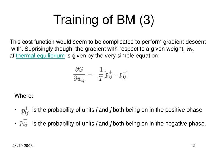 Training of BM (3)