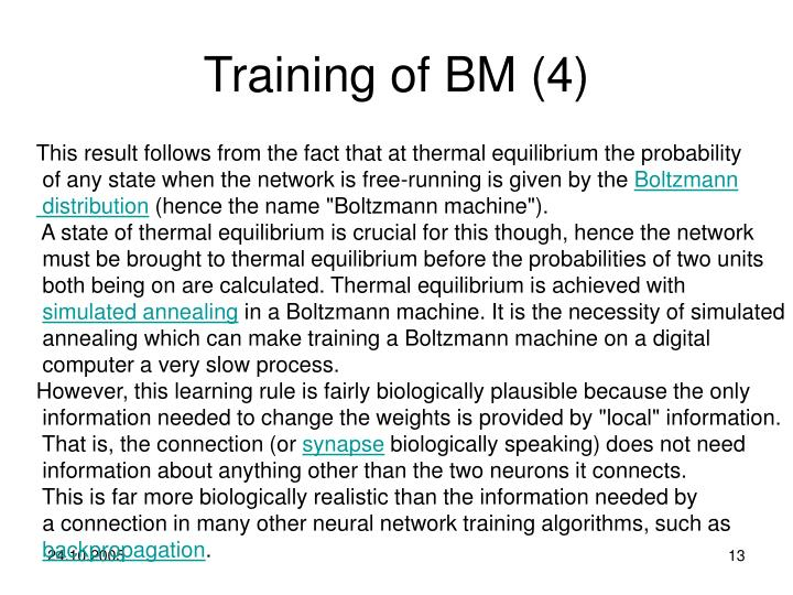 Training of BM (4)