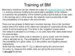 training of bm