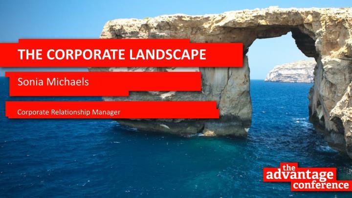 The corporate landscape