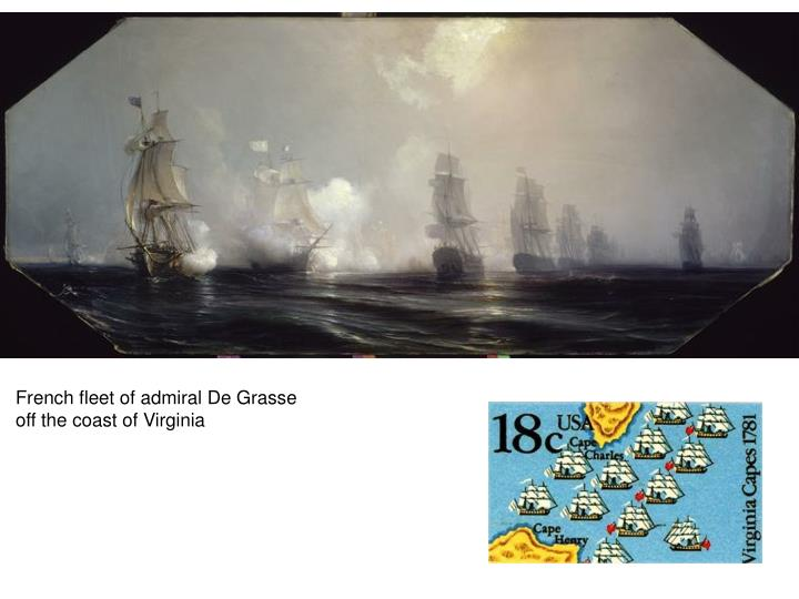 French fleet of admiral De Grasse