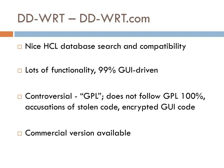 DD-WRT – DD-WRT.com