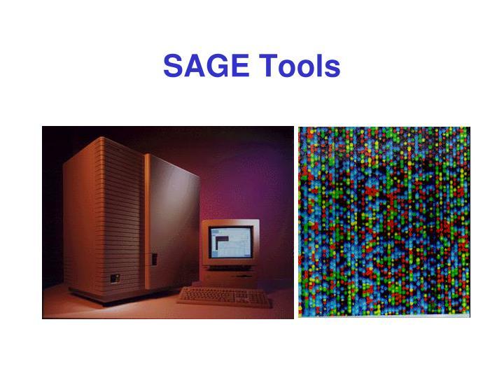 SAGE Tools
