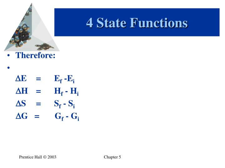 4 State Functions