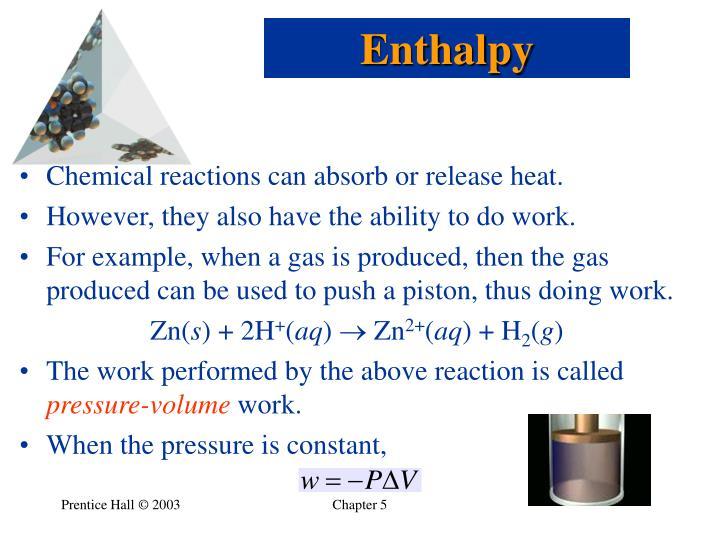 Enthalpy