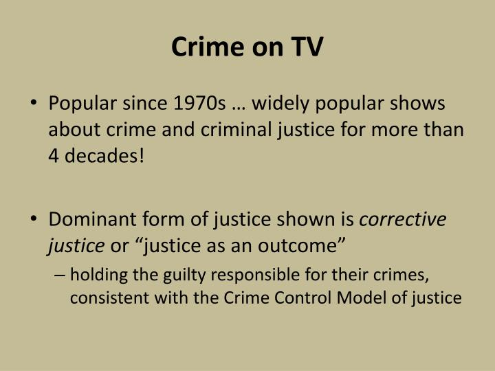 Crime on TV