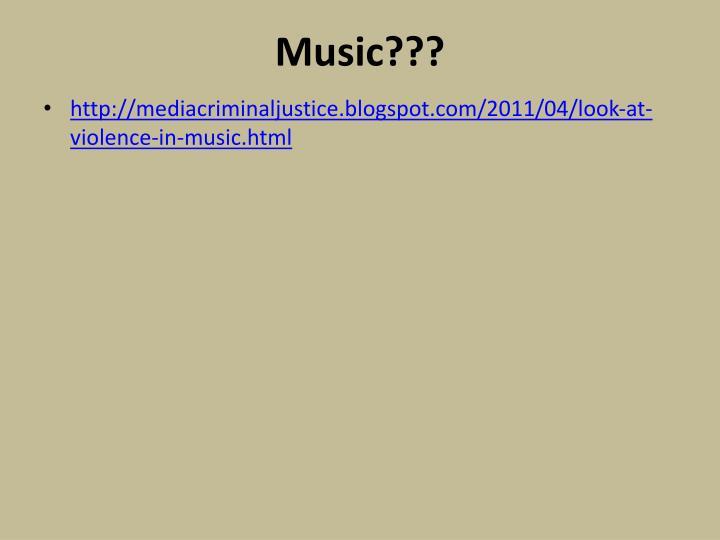 Music???