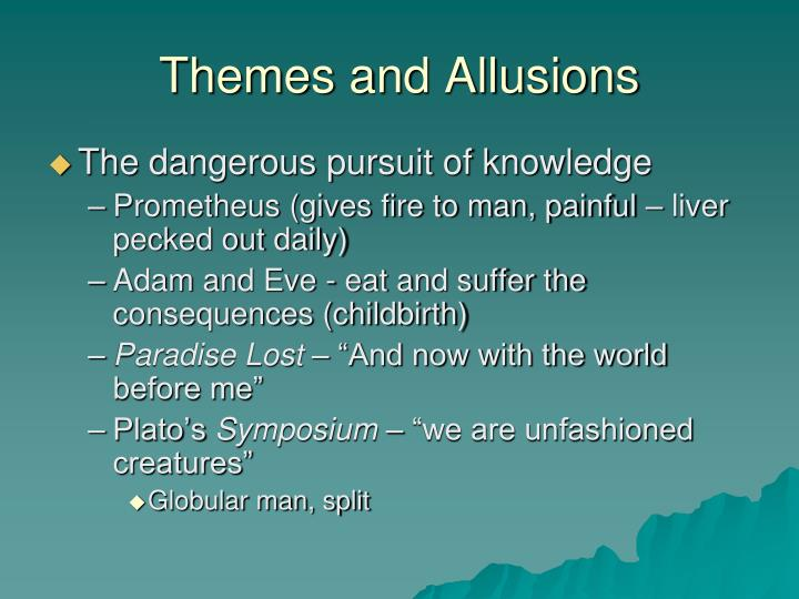 Themes and Allusions