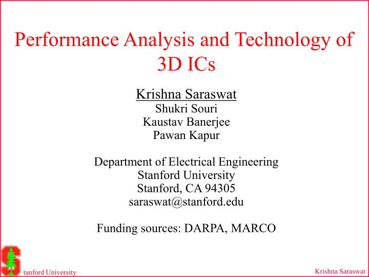 Performance Analysis and Technology of