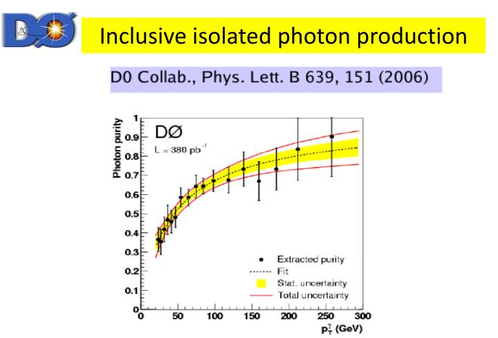 Inclusive isolated photon production