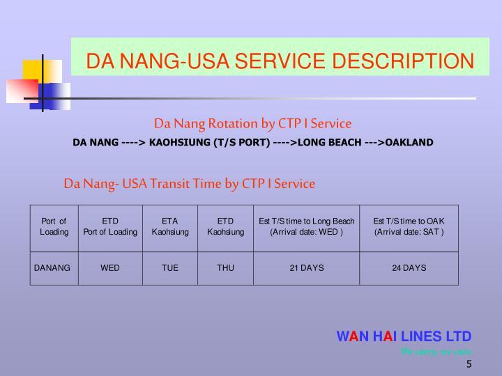 Da Nang Rotation by CTP I Service