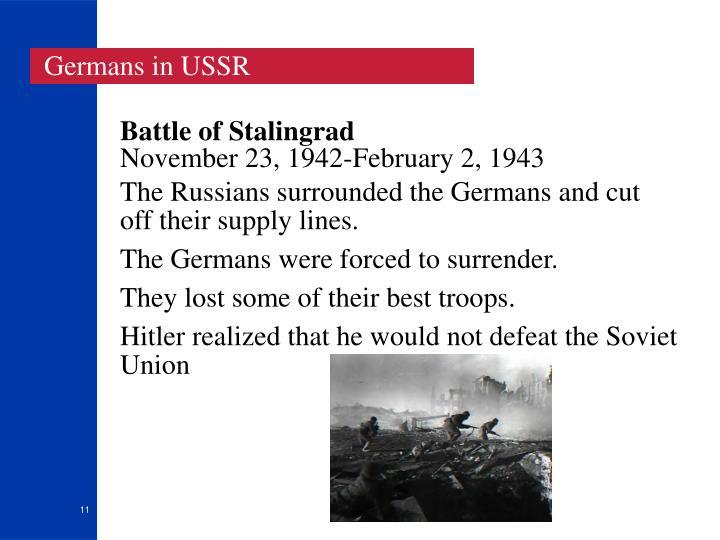 Germans in USSR