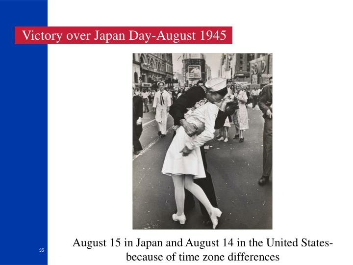Victory over Japan Day-August 1945