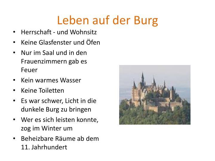 Leben auf der Burg