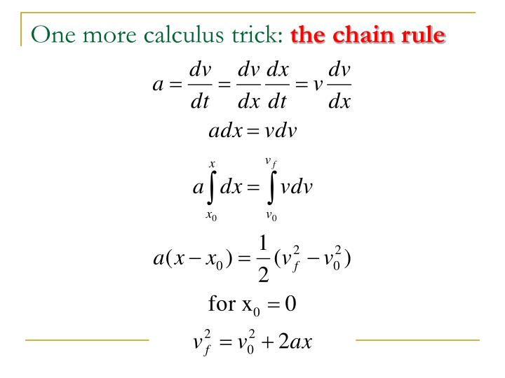 One more calculus trick: