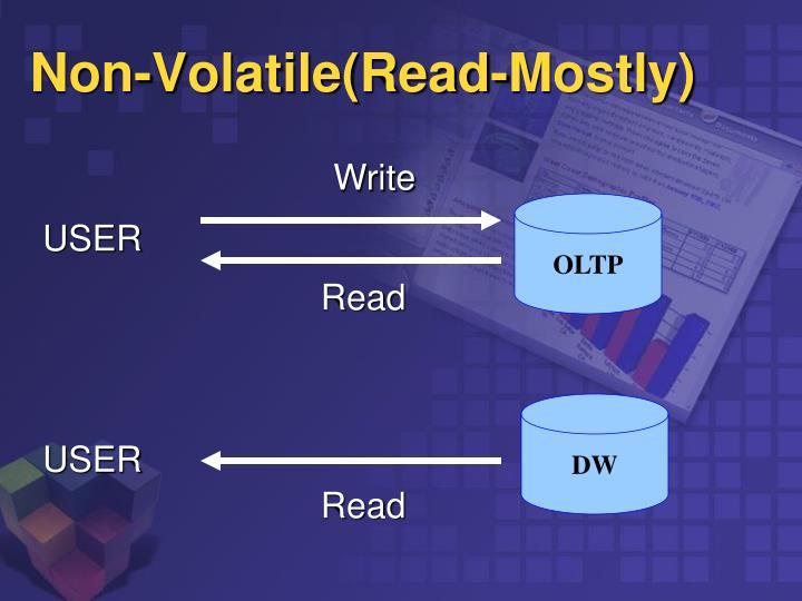 Non-Volatile(Read-Mostly)