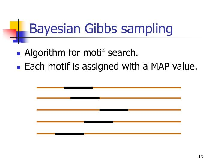 Bayesian Gibbs sampling