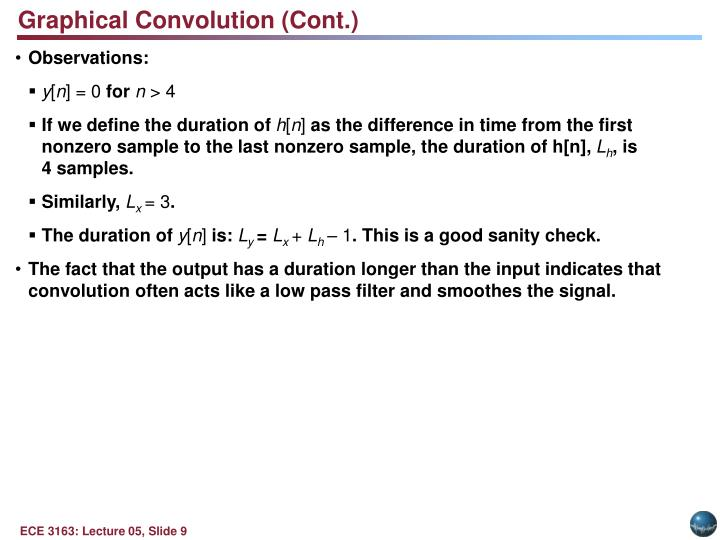 Graphical Convolution (Cont.)