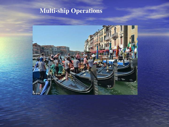 Multi-ship Operations