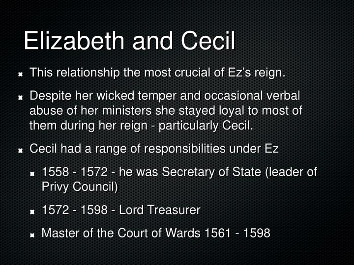 Elizabeth and Cecil